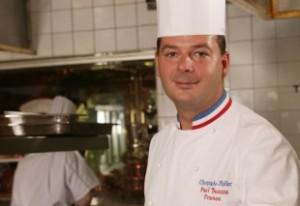 Le cuisinier Christophe Muller