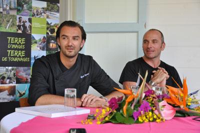 Cyril lignac les saveurs de l 39 le de la r union for Stage de cuisine cyril lignac