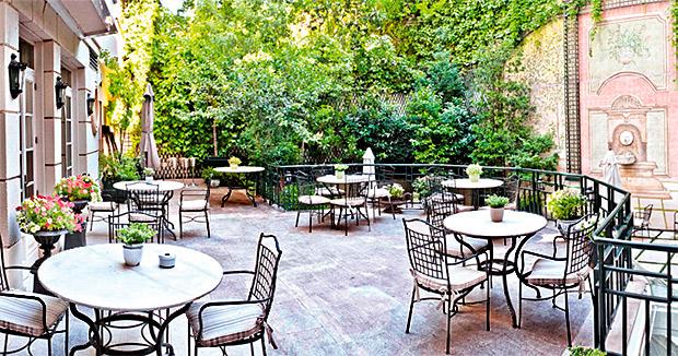El jard n de orfila restaurant madrid martine va au resto for Hotel du jardin menu