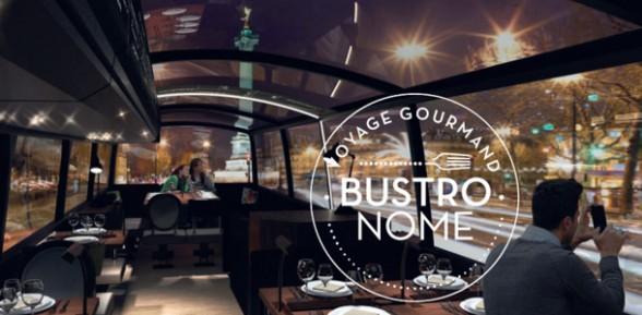 Le Bustronome: un bus-restaurant pour visiter Paris