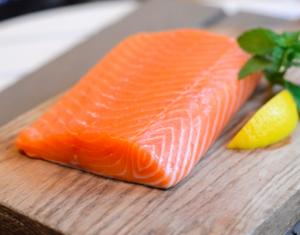 Belle tranche de saumon
